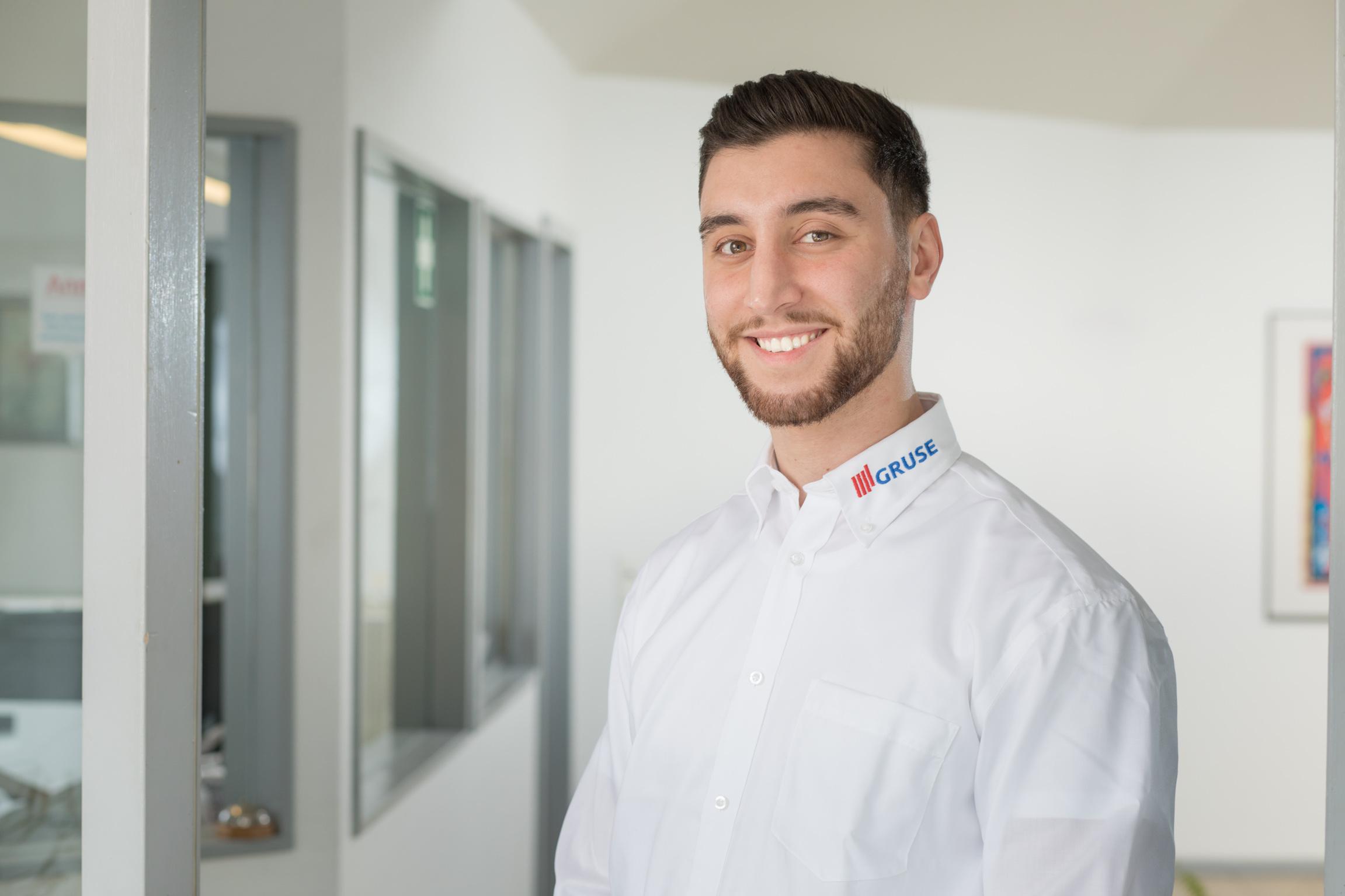 Tarek El Charif, Auszubildender zum Industriekaufmann im 1. Lehrjahr