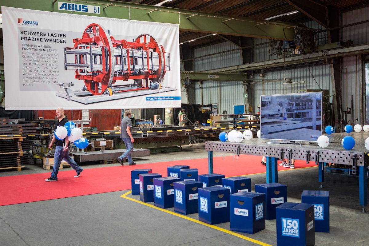 Gruse feiert 150-jähriges Firmenjubiläum am Firmensitz in Groß Berkel bei einem Tag der offenen Tür